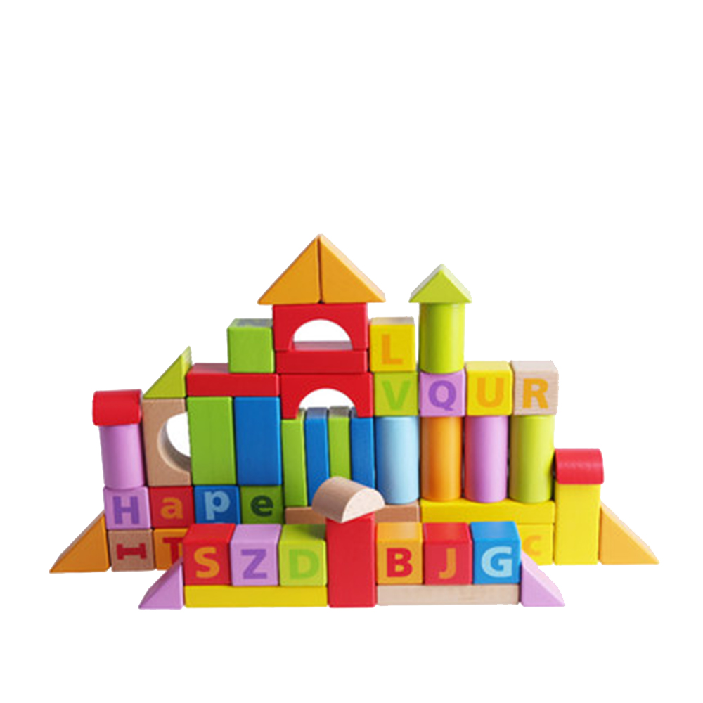 Infant building blocks wooden 1-2 years old 3-6 years old baby puzzle boy girl children toy gift