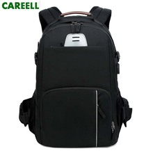 цена на CAREELL  C3058 DSLR Photo Bag Camera Backpack Large Capacity Travel Camera Backpack For Canon/Nikon Camera 15.6'' laptop