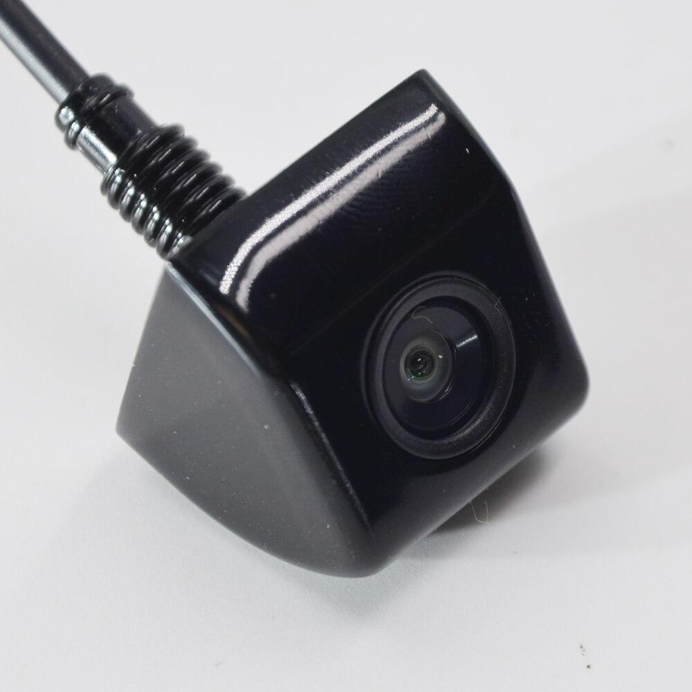 BYNCG Автомобильная камера заднего вида, 4 светодиодный, ночное видение, Реверсивный, Авто парковочный монитор, CCD, водонепроницаемая, 170 градусов, HD видео - Название цвета: 104 Black