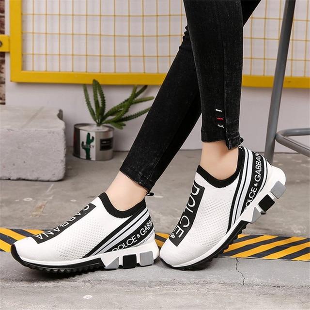 Zapatillas de deporte Unisex para hombre y Mujer, zapatos planos de lujo para caminar 1