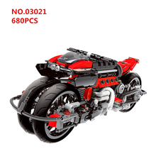 Technic Series The Off-road 4 Rounds Motorcycle Motorbike Model Building Blocks Sets Bricks Educaitonal Toys For Children gift technic motorbike series building blocks cross country motorcycle bicycle bricks model educational toys for children gifts