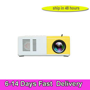 Mini Projector J9 YG200 HDMI Portable 1080P Home Theater Media-Player US 5-10-Days