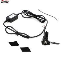 USB Port for Phone GPS DC 5V 2A Adapter Motorcycle USB Socket Power Supply Socket Motorbike Handlebar Charger USB Converter