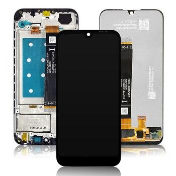100% تم اختبارها لهواوي Y5 2019 شاشة الكريستال السائل و مجموعة المحولات الرقمية لشاشة تعمل بلمس لهواوي الشرف 8S شاشة LCD + الإطار