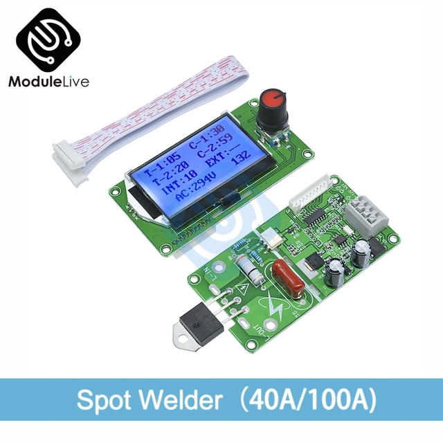Digital LCD Electronic Tools Machine Weld
