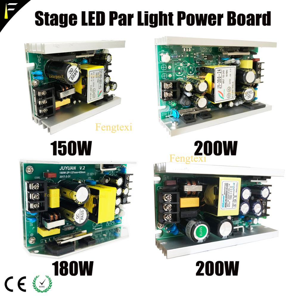 Full Color Stage 54*3 w/54*1 w/36*3 w LED Par Kan voeding Bron 80 w/150 w/180 w/200 w 12v24v36v Elektrische Voeding Voeding