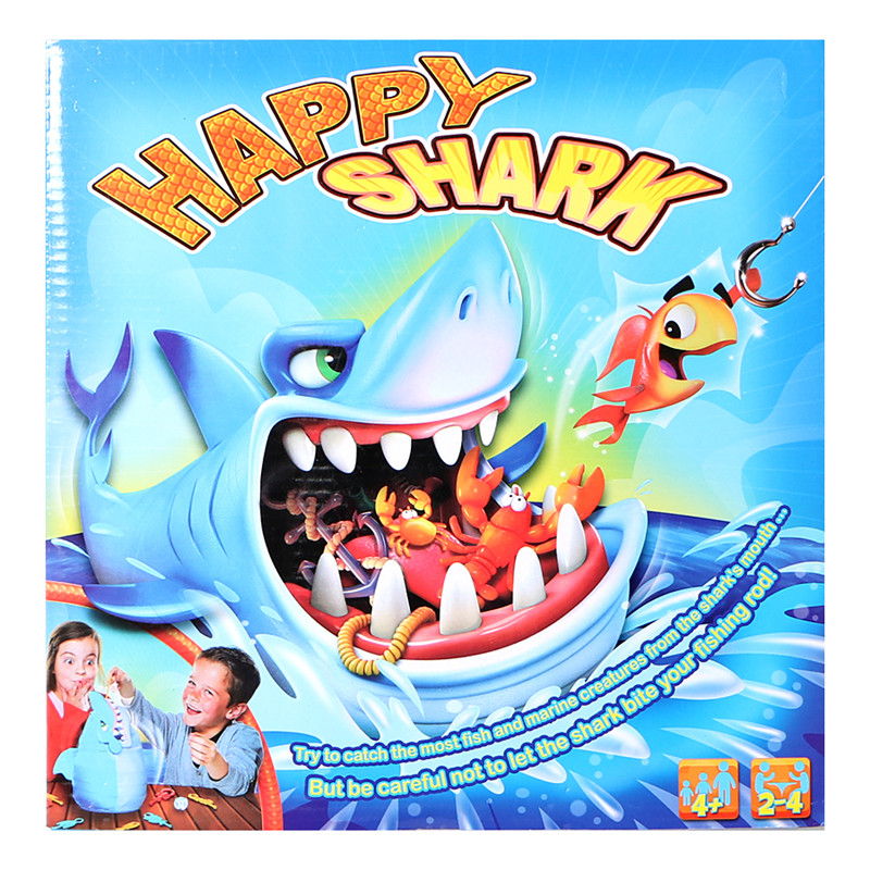 Sharks Trap Board Desktop Game Fishing Children Funny Desktop Trickery Interactive Family Games For Kids Chilren Mischief Gift