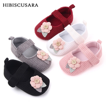 Clothing Prewalker Shoes Crib-Shoes Baby Baby-Boy-Girl Flower Soft-Sole Cotton-Fabric
