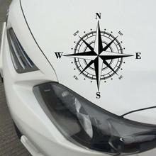 15 cm * Art Design Vinyl N S W E Compass Car Stickers Decals Black For All Cars Every Accessories