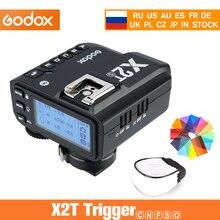 Godox X2T C X2T N X2T S X2T F X2T O 2.4G TTL الأحرار الارسال اللاسلكية فلاش الزناد لكانون نيكون سوني فوجي أوليمبوس