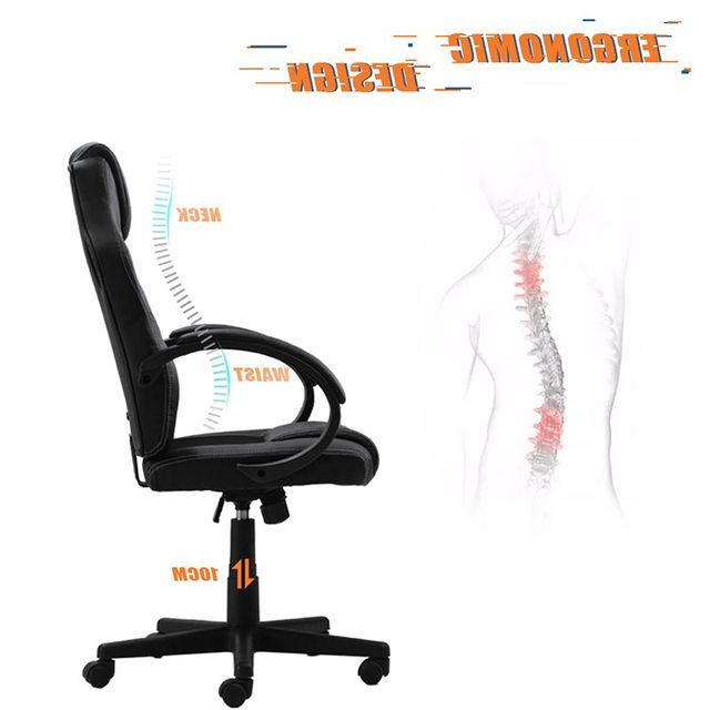 Business Office Furniture Office Chair Adjustable PU Leather Chair