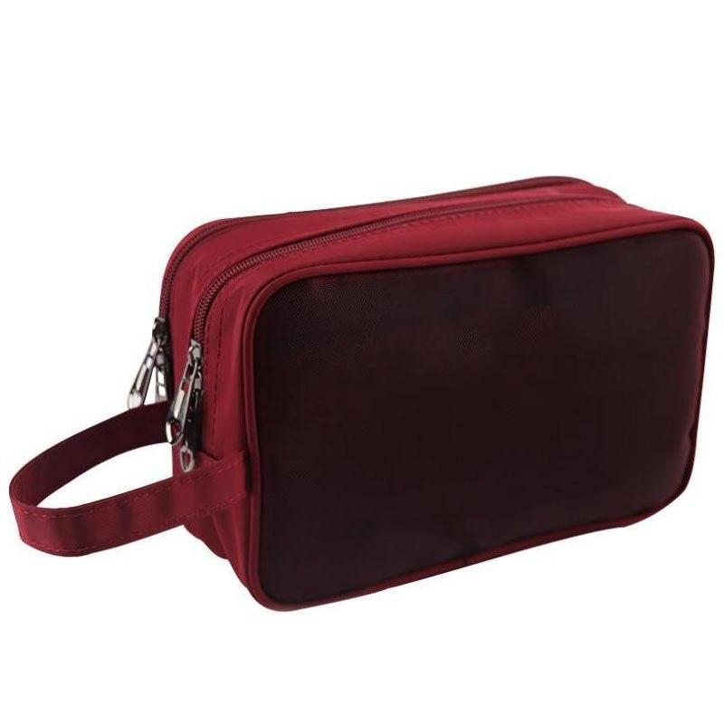 Multifunctional Tool Bag Transparent Cosmetic Bag Travel Multilayer Cosmetic Case Storage Bag Cosmetics Beauty Kit Washing Bag