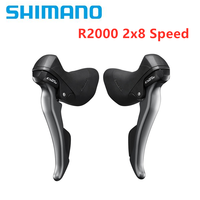 Shimano Claris R2000 2x8 Speed Shifter New Model Road Shift/Brake Levers Set Right & Left Hand Road Bike Bicycle Accessories