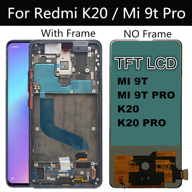 6.39'' TFT LCD For Xiaomi Mi9T Lcd Mi 9t Pro LCD Display Touch Screen Digitizer Assembly Replace FOR Xiaomi Redmi K20 PRO LCD