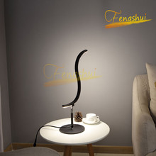 Art Deco LED Table Lamp Lighting Nordic Special-shaped Tri-color Light Source Attic Indoor Decor Desk