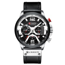 Simple Luxury Men Chronograph Watch Waterproof Quartz Wristw