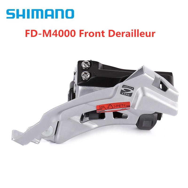Shimano Alivio FD-M4000 Front Derailleur 31.8//34.9mm 9 Speed Top Swing