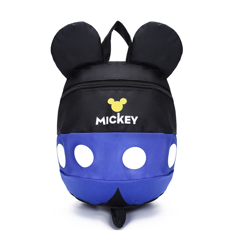 Aged 1-5 Toddler Backpack Anti Lost Kids Baby Bag Cartoon Mickey Children Backpacks Kindergarten School Bag For Girls And Boys