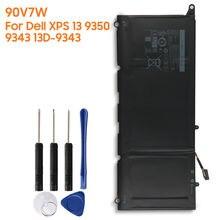 Оригинальная сменная батарея 90v7w jd25g jhxpy rwt1r для dell