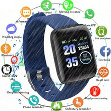 Waterproof Smartwatch 116 Plus Smart Wristband Men Women Heart Rate Fitness Sports Watches Smart Band Android Relogio Masculino(China)