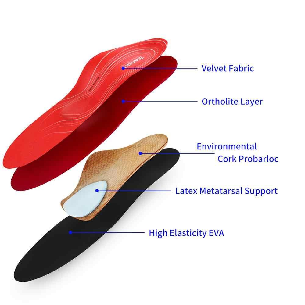 Palmilhas ortopédicas 3angni, palmilhas ortopédicas de apoio do arco, para pés chatos, unissex, fascite plantar