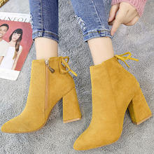 2019 Winter Women Shoes Woman Boots Sexy High Heels Ankle Booties Drop Shipping