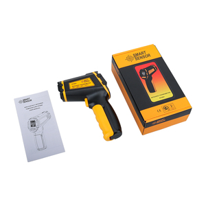Image 4 - Digital Infrared Thermometer Laser Temperature Meter Non contact Pyrometer Imager Hygrometer IR termometro Color LCD Light Alarm