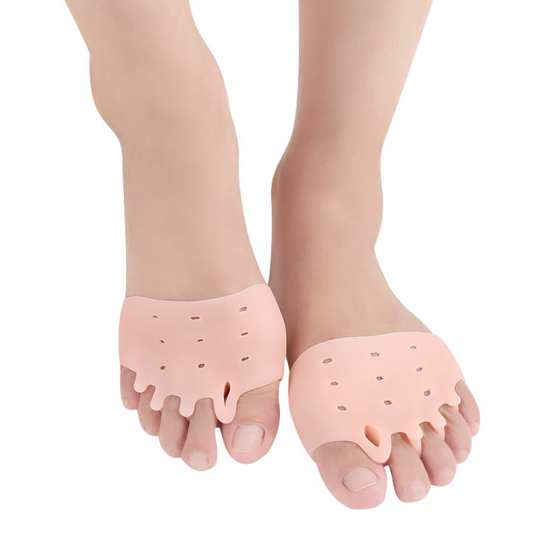1 Pair Silicone Forefoot Pad Foot Reusable Pain Relief Breathable For Women Men YS-BUY