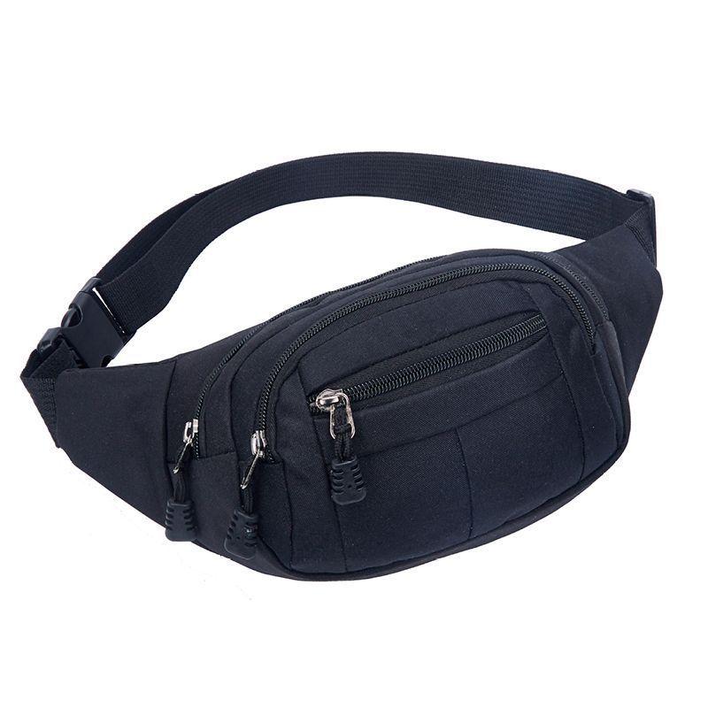 Shoulder Bag Fashion Men's Pockets Mobile Phone Cashier Bag Breathable Korean-Style Running Sports Pockets Wholesale