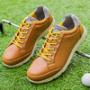 2021 Autumn New Men Leisure Golf Shoes Professional Golfing Sneakers for Men Lack Up Big Size Male Sneakers Golfer Shoes