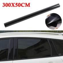 5%/15%/20%/25%/35%/50% transmissão de luz vlt grosso anti-desgaste filme de isolamento de vidro filme de carro solar de alta definição 300*50cm