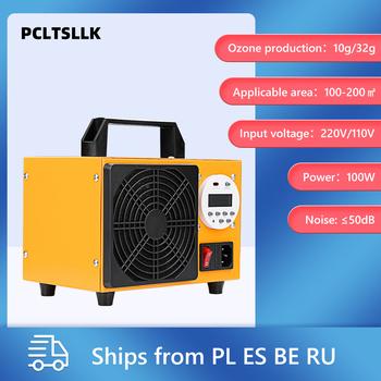 PCLTSLLK Generator ozonu 220V 32G 10G Ozonator maszyna oczyszczacz powietrza regulator czasowy z wyświetlaczem sprzęt do sterylizacji tanie i dobre opinie NoEnName_Null 50m³ h CN (pochodzenie) 110 w 220 v 10g h Bar tlenowy 41-60 ㎡ Przenośne 99 00 Elektryczne 99 90 inny