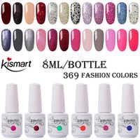 8 ml bouteille vernis à ongles UV/LED vernis à ongles vernis à ongles tremper vernis à ongles longue durée Gel UV vernis à ongles sec avec lampe à LED