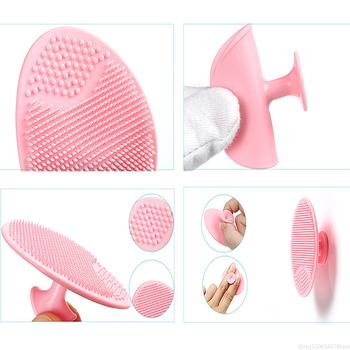 Miękki silikonowy szczoteczka do oczyszczania twarzy piękno żel do mycia twarzy Pad złuszczający usuwająca zaskórniki skóry głębokie masażer narzędzie do pielęgnacji twarzy TSLM1 tanie i dobre opinie RtopR Twarzy mydło Unisex CN (pochodzenie) 75028 Brak Czyszczenia twarzy Ultrasound as shown outdoor travel family limpiador facial