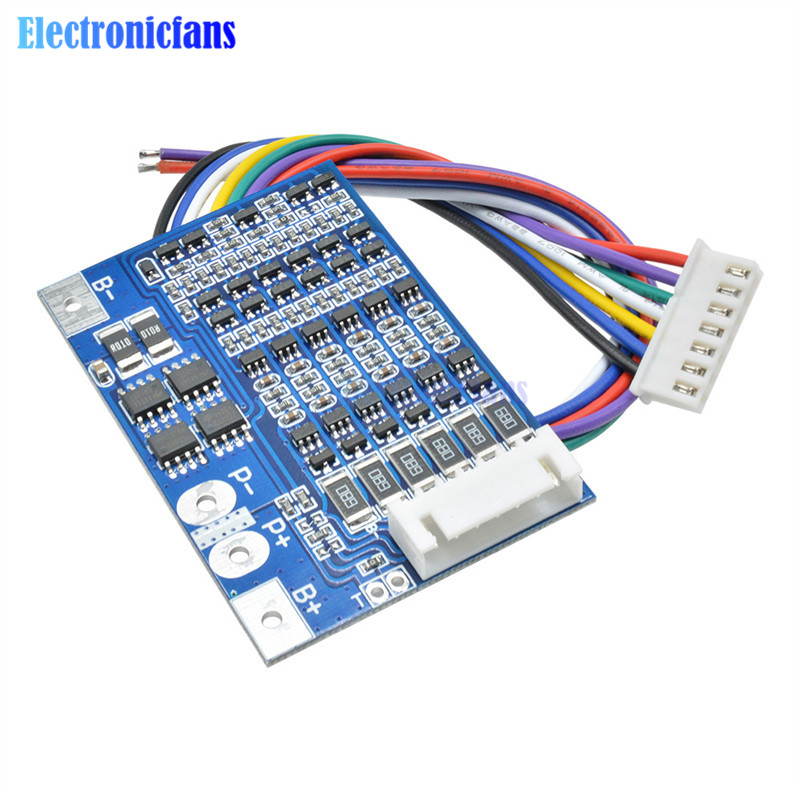 10S 36V Li-ion Lithium Cell 40A 18650 Battery Protection BMS PCB Board Balance