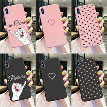 Case for Coque iPhone 11 Pro Max XS XR X 7 8 6 6S Plus Love for Samsung A51 A71
