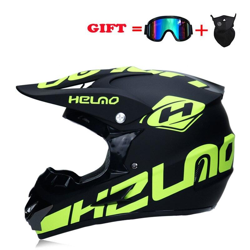 2020 Off-road Motorcycle Helmet Casco Moto Full Face Motocross Helm DOT Professional Motorbike ATV Mt Downhill Racing Dirt Bike