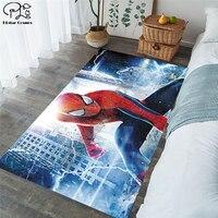Novo superman/batman/eua capitão/the avenger tapetes flanela macia 3d impresso tapetes tapete anti deslizamento grande tapete 11|Tapete| |  -