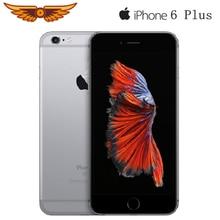 Разблокированный Apple iPhone 6 Plus 5,5 дюймов двухъядерный 1 Гб Оперативная память 16 Гб/64/128 ГБ Встроенная память ips 8MP Камера LTE операционная система IOS использовать мобильный телефон