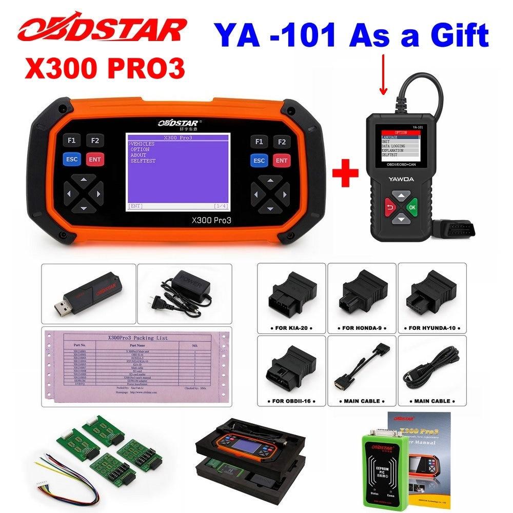 OBDSTAR X300 PRO3 Key Master OBDII X300 Key Programmer Odometer Correction Tool EEPROM/PIC Update Online better than skp-900