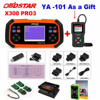 OBDSTAR X300 PRO3 Key Master OBDII X300 Key Programmer Odometer Correction Tool EEPROM/PIC Update Online better than skp-900 - DISCOUNT ITEM  30% OFF All Category