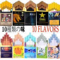 Sabores variados para hombres y mujeres, cigarrillos de salud, no contienen nicotina y tabaco, 10 unidades