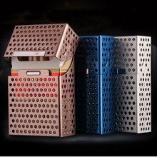 Креативный Алюминиевый Чехол книжка с отверстиями чехол для