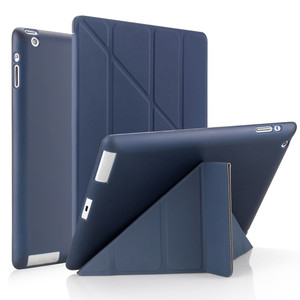 Чехол для ipad 2/3/4 9,7 2018/2017 5/6th Air 3 10,5, кожаный мягкий смарт-чехол для apple ipad 10,2 7/8th mini 1/2/3/4/5, чехол для планшета