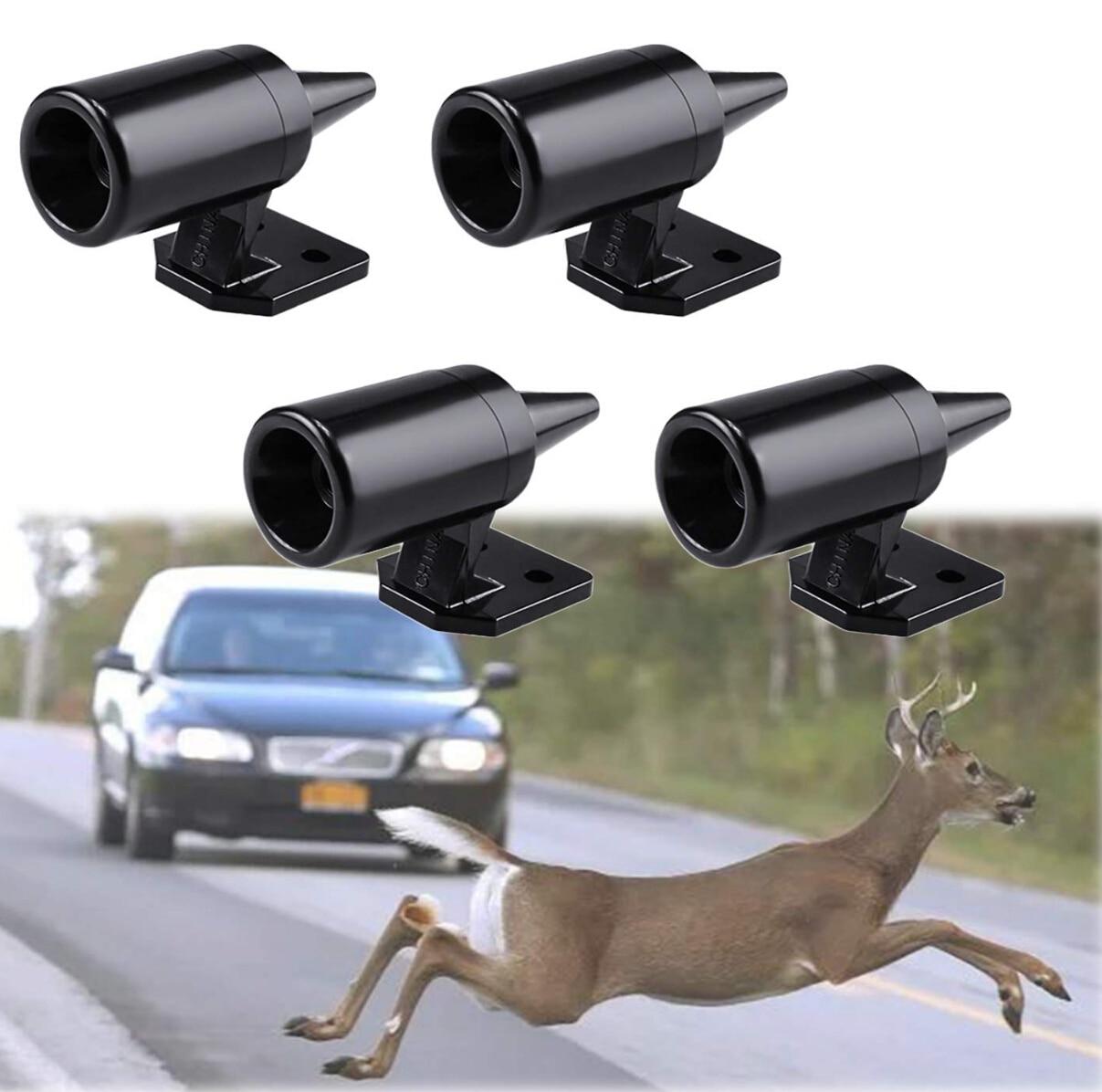 1pc Animal Deer Warning Alarm for hyundai veloster audi a4 b8 chrysler 300 mustang 2016 honda crv civic 2017 subaru wrx