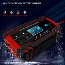Ładowarka samochodowa 12V 8A/2A naprawa pulsu ładowarka baterii LCD do samochodu motocykl akumulator kwasowo-ołowiowy żel mokry suchy przewód szybkie ładowanie