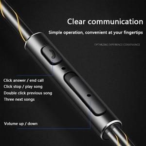 Image 5 - Wired כפול יחידת כונן באוזן אוזניות בס סאב HIFI 6D איכות צליל מוסיקה ספורט אוזניות סוג C אוזניות אוזניות