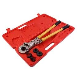 Złączka hydrauliczna JT-1632 do rur PEX narzędzia do zaciskania PB zaciskanie rur miedź aluminium łączenie z typem TH & U