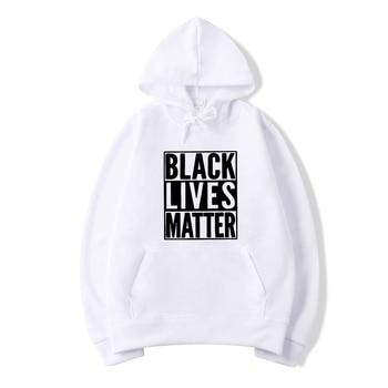 Black Lives Matter Letter Sweatshirts Women Men Hoodies Long Sleeve Casual Hooded Pullover Clothes Sweatshirt 2019 autumn women long sleeve letter crop hoodies sweatshirt casual crop hooded pullover outwear sweatshirts hot