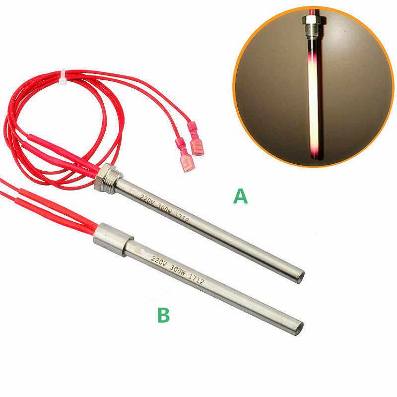 Poêle à granulés allumeur tige chaude Tube de chauffage allumeur 10*140/150/170mm M16 * 1.5 fil pour cheminée gril poêle 300/350W 220V